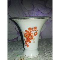 Старая немецкая ваза 9,5 и 8 см.