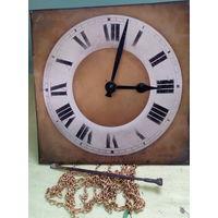 Часы напольные из чердака