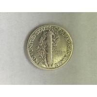США 1 дайм (10 центов) 1945