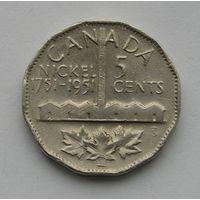Канада 5 Центов 1951 (66)