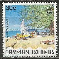 Кайманы. Мини-пляж. 1996г. Mi#759.