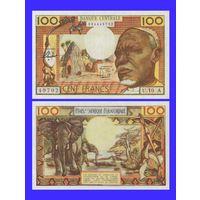 [КОПИЯ] Чад 100 франков 1963г.