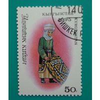 Кыргызстан.1995.старинный ковер