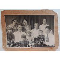 """Фото """"Семья переселенцев из Молодечно на золотых приисках в Якутии"""", г. Алдан, 1937 г."""