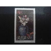 ЮАР 1980 Цветы в живописи