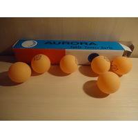 РАСПРОДАЖА ВСЕГО!!! Мячи для настольного тенниса, 6 шт. в 1 уп.