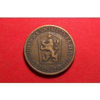 1 крона 1967. Чехословакия.