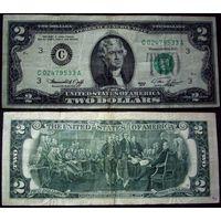 2 доллара 1976 А