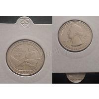 США - 25 центов (квотер - Национальный исторический парк Камберленд-Гэп) 2016г. (S).