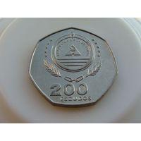 Кабо - Верде. 200 эскудо 1995 год  KM#34  Ф.А.О