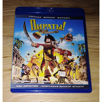 Пираты! Банда неудачников (The Pirates! In an Adventure with Scientists!) (Blu-ray)