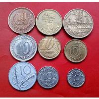9 монеток - 9 стран. #49 Старт с 10 копеек.