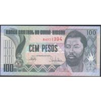 100 песо 1990г. UNC