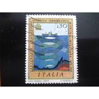 Италия 1973 сонар, корабль