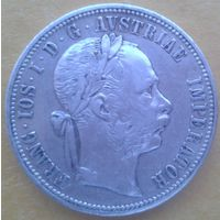 1 флорин австро-венгрия 1878