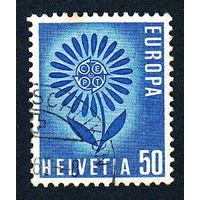 57: Швейцария, почтовая марка, 1964 год, номинал 50с, SG#697