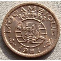 """Мозамбик """"Португальская колония"""" 10 сентаво 1961 год KM#83"""