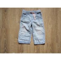 Летние джинсы H&M для девочки, р.80