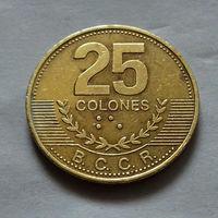 25 колон, Коста-Рика 2007 г.
