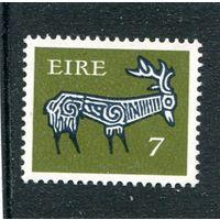 Ирландия. Стандарт. Раннее ирландское искусство.  7. WZ.2