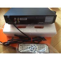 DVD плеер с USB входом + диски