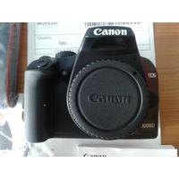 Зеркальный фотоаппарат Сanon EOS 1000D Body  Новый, полный комплект