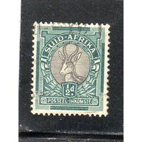 Южная Африка.  Mi:ZA 21C.  Антилопа Спрингбок (Antidorcas marsupialis). 1927.