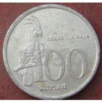 6129:  100 рупий 1999 Индонезия