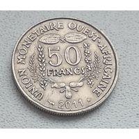 Западная Африка 50 франков, 2011 8-4-2