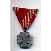 Войсковой крест Карла WW1 Оригинал клеймо W@A