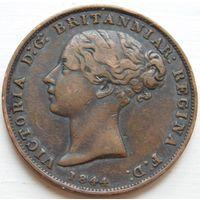 14. Джерси 1/26 шиллинга 1844 год.