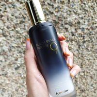 Омолаживающая эмульсия для лица с пептидами и муцином черной улитки Farm Stay Black Snail & Peptide 9 Perfect Emulsion 130 ml