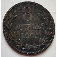 Гернси 8 дублей, 1902 1-9-11