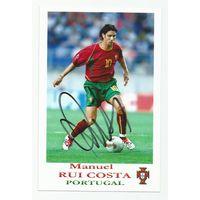 Manuel Rui Costa(Португалия). Живой автограф на фотографии #2