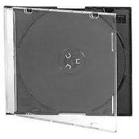 Коробки слим для CD, DVD дисков. В наличии 70шт.
