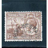 Тринидад и Тобаго.Ми-105. Британния и король Георг V. 1922.