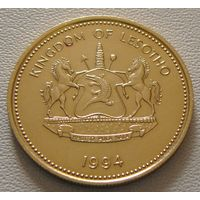 Лесото. 5 лисенте 1994 год KM#56