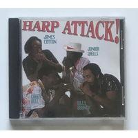 Audio CD, COTTON, WELLS, BELL, BRANCH – HARP ATTACK! - 1990
