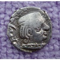 Древняя Индия. Государство (династия) Западные Каштрапы. Драхма I-IV век.-2