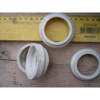 Прокладки,соединители из керамики или фарфора?  Цена за весь лот.