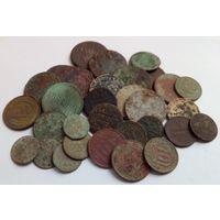 Лот монет на чистку и реставрацию!!! 31 штука!!! Монеты и состояние разные!!! С 1 рубля!!! Без МЦ!!!