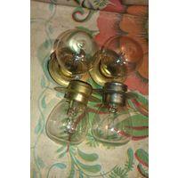 Лампы накаливания  4 в 1! двухконтактные 12V50+40WIII 87 60К -2 ШТ, 24V60+40CDIV 86, без маркировки одна одноконтактная