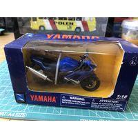 Мотоцикл YAMAHA YZF-R6  в масштабе 1/18 Ямаха