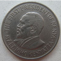 Кения 50 центов 1971 г.