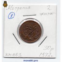 2 цента Австралия 1972 года (#1).