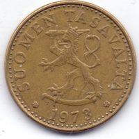Финляндия, 20 пенни 1973 года, S.