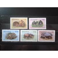 Уганда 1979 Стандарт, фауна** Михель-4,3 евро