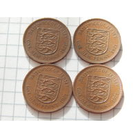 Джерси 1 пенни 1971 (цена за монету)