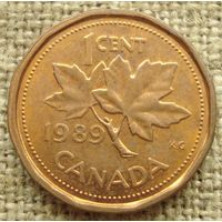 1 цент 1989 Канада