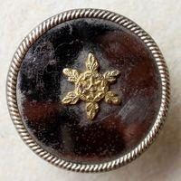 Пуговица,Франция,Napoleon I,офицерская, редкая в позолоте! Распродажа коллекции.